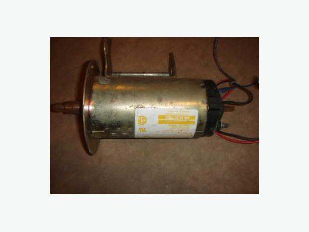 110V  2 HP Variable Speed Electric Motor