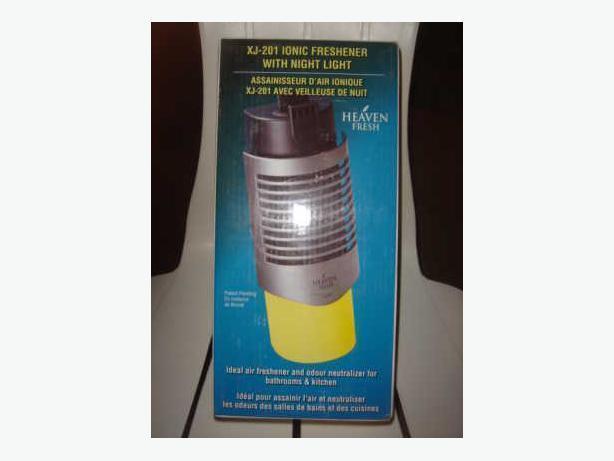 Ionic Air Freshner With Nite Lite