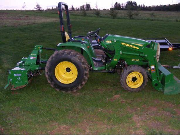 roto tilling and grass cutting