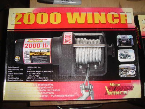 Wood Power Winch