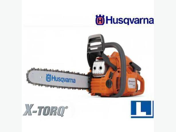 "HUSQVARNA 445 CHAINSAW 46cc 18"" bar"