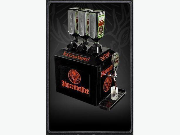 """""""NEW""""( IN THE BOX) Jagermeister"""" ICE COLD SHOTS"""" Tap Machine"""