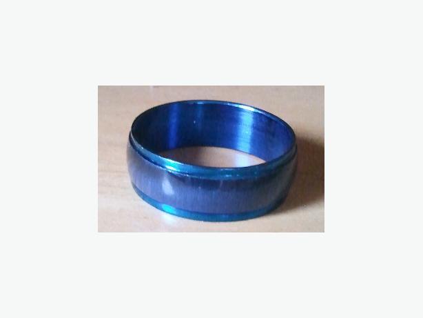 Stainless Steel Resin Night Cat-eye Rings
