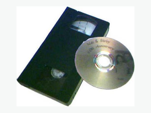 Transfer VHS -VHS-C-8mm-Betamax-Audio Cassette to DVD/CD