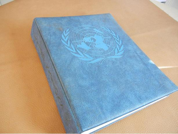 H.E. HARRIS - UNITED NATIONS STAMP ALBUM