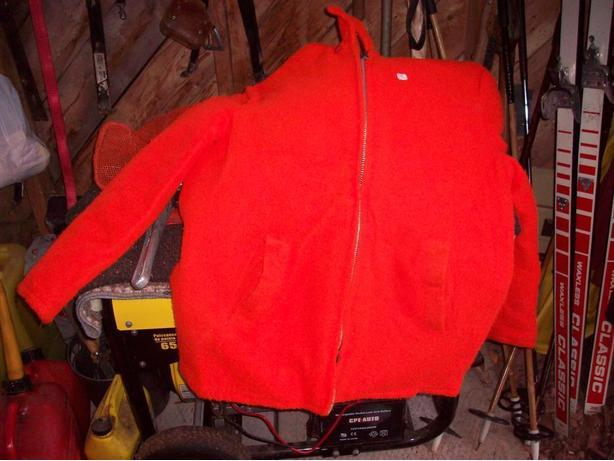 Blaze  orange  hunting  coat