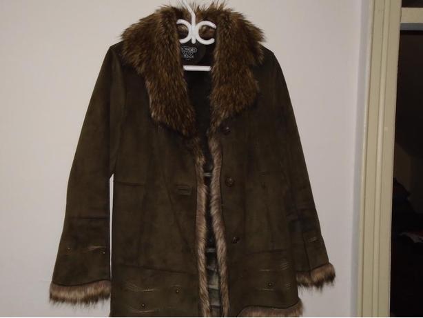 Brand New! Novelti petite for Lindor Faux fur trim jacket size M/M $60.00