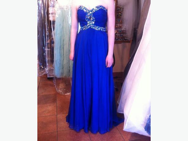 Royal Blue Prom Dress OBO