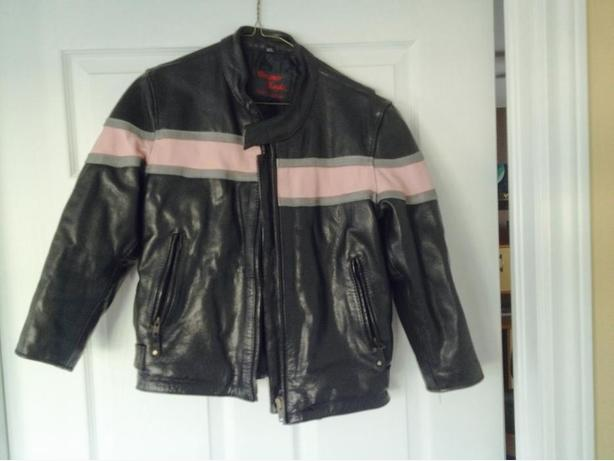 Childs Leather Jackets and chaps
