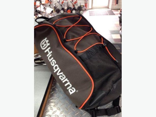 NEW Husqvarna Arborist Rucksack Backpack WITH Rain Protection!