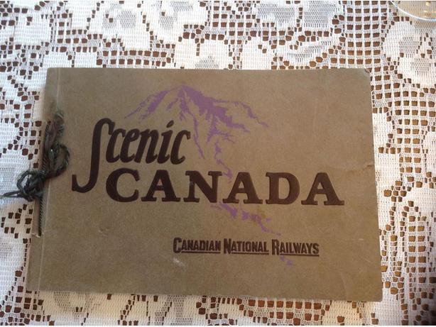 CANADIAN NATIONAL RAILROAD TOURIST BOOK