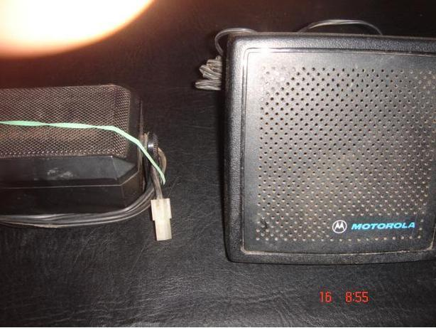 Motorola Two Way Radio External Speaker