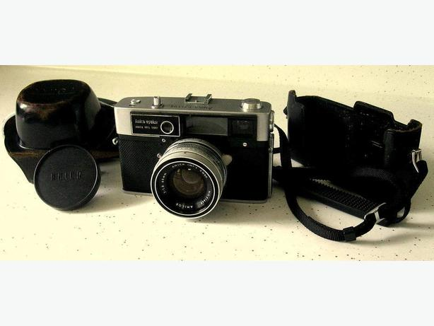 "VINTAGE 1960's AMICA""EYELUX""CAMERA WITH 45mm AMICOR LENS & CASE"