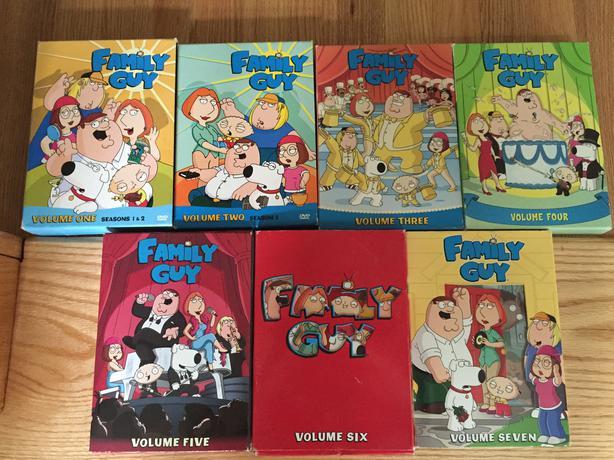 Family Guy volumes 1-7 (8 Seasons)