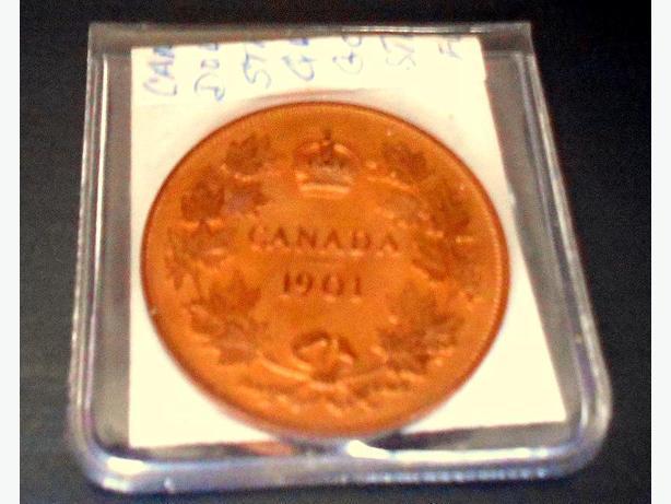CANADA PATTERN 1901 SILVER DOLLAR