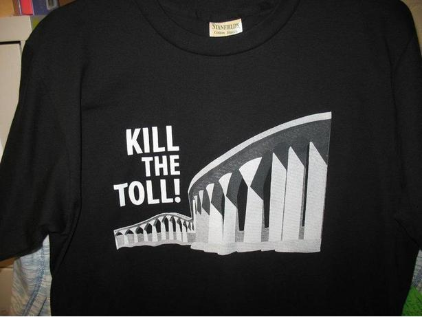 Kill the Bridge Toll t-shirt!