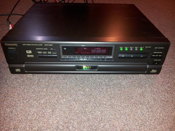 Panasonic 5 disc DVD player