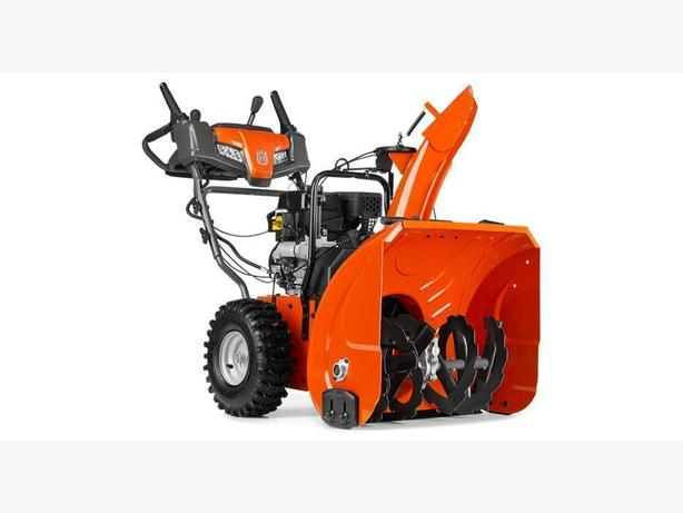 HUSQVARNA SNOWBLOWER ST224 IN STOCK