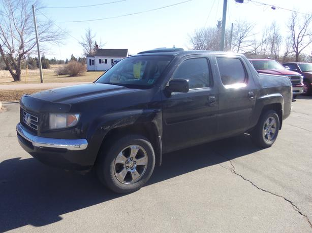 2007 HONDA RIDGELINE EX-L !! AWD !! HEATED LEATHER !! SUNROOF !!