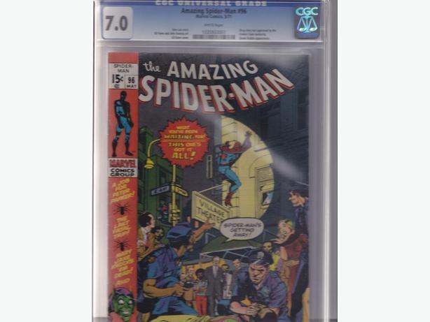 The Amazing Spider-Man 96 - CGC 7.0 - Marvel