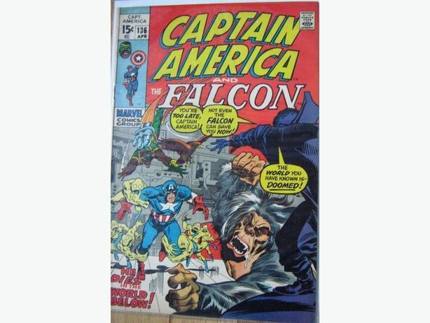 Marvel - Captain America #136
