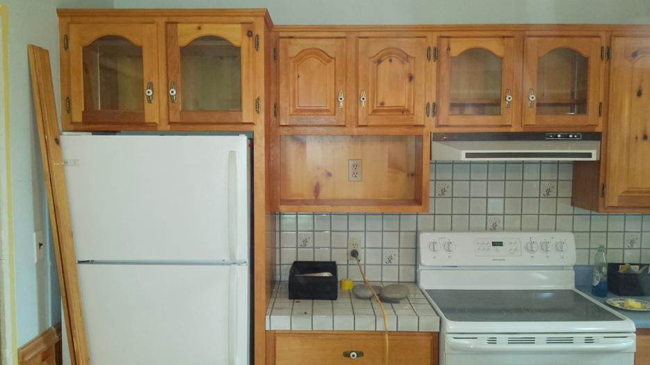 Kitchen cabinets cupboards from renovation charlottetown pei for Kitchen cabinets kamloops