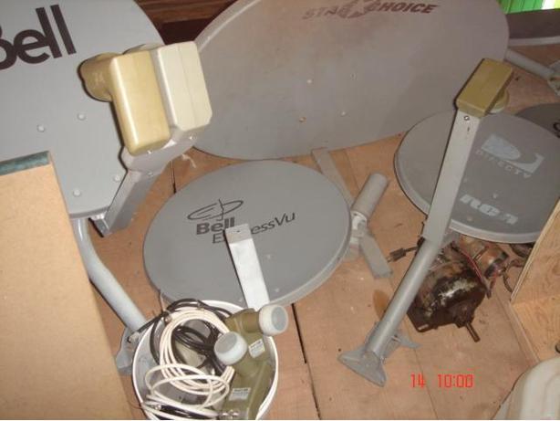 Single LNB Satellite Dish