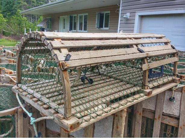 Lobster Traps  3 and 4 Bow