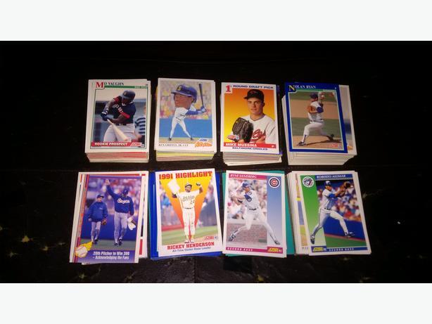 500 Baseball Cards