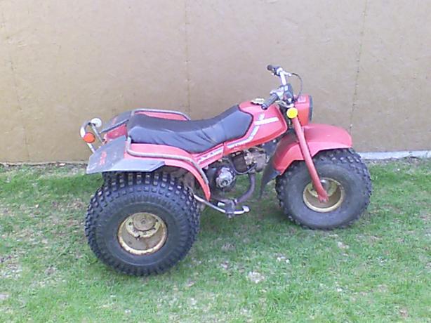 1982 Honda 110  3 Wheeler