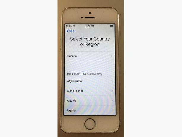 iphone 5s. gold