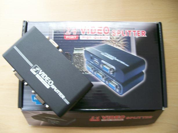 Powered 2 Port VGA Splitter
