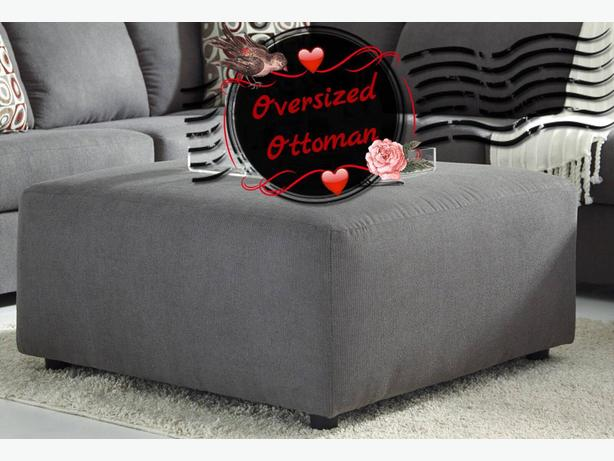 excellent condition Large ottoman and chaise