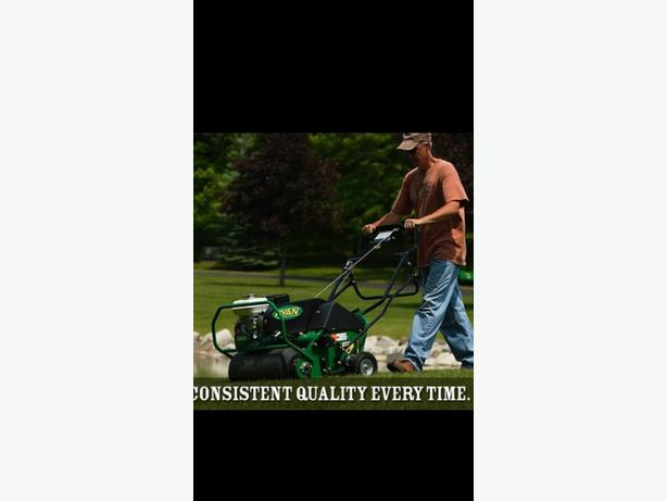 Fall Lawn Aerating Services