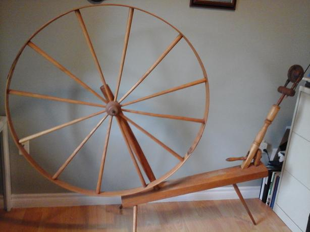 Just Reduced! Vintage Antique NFLD Flax Wheel