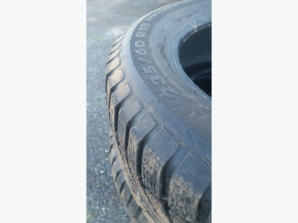 235/60 R18 winter studded tires for sale