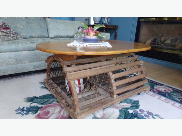 Hand Made Lobster Trap Coffee Table