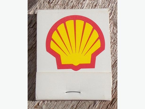 VINTAGE NEW OLD STOCK SHELL CANADA MATCH BOOK GASOLINE