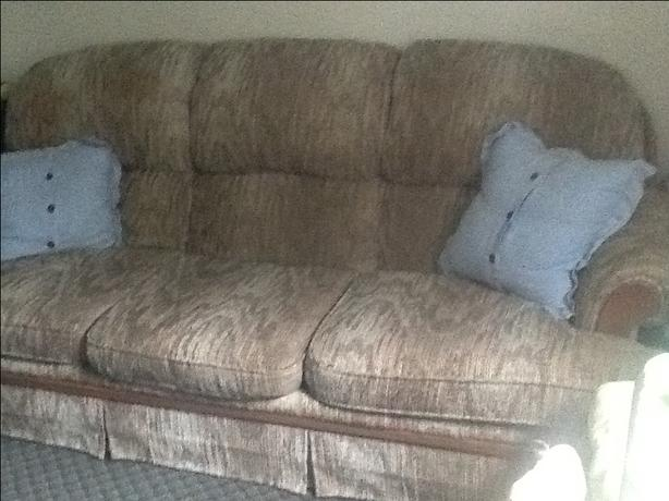 Coach and chair. $75 obo