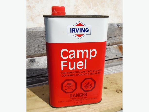 Rare 1970's Irving Camp Fuel (1 Litre) Can