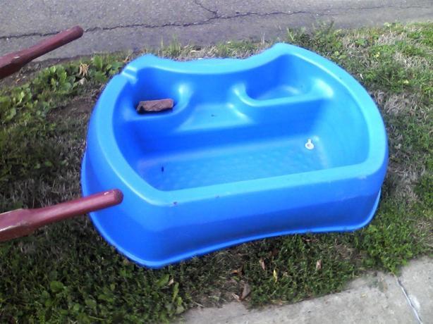 Outdoor dog bath/pool
