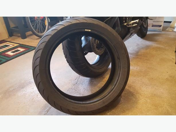 Motorcycle Tire (180/55/ZR17)