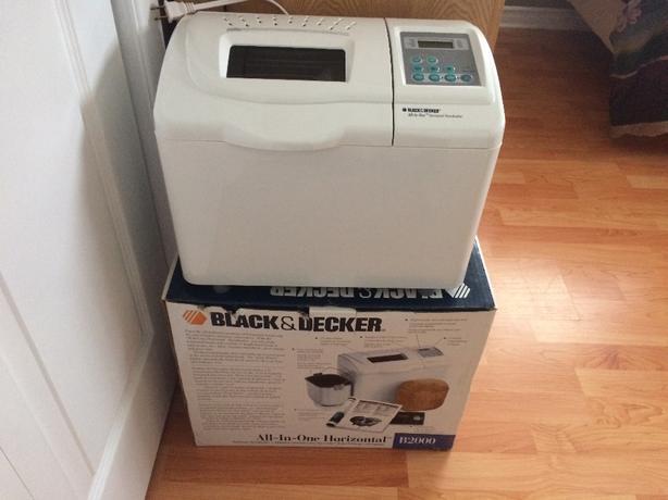 Black & Decker All-In-One Breadmaker