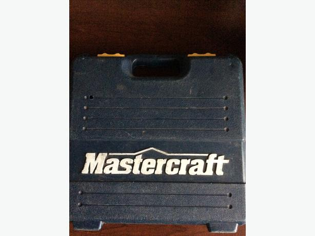 Mastercraft battery powered screwdriver