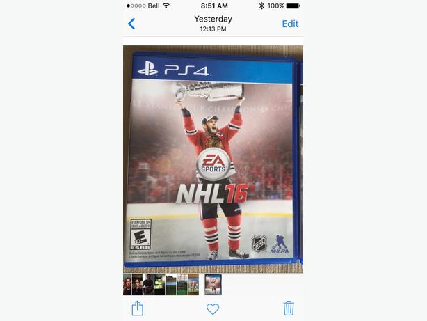ps4 NHL 2016