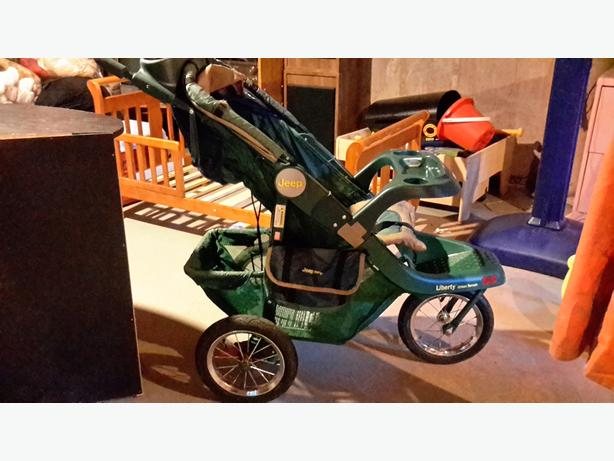 used Jeep running stroller
