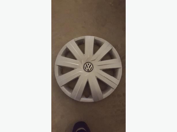 "(4) 2016 VW Jetta Factory 16"" Hubcaps"