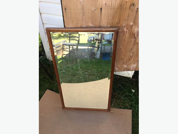 beveled antique mirror