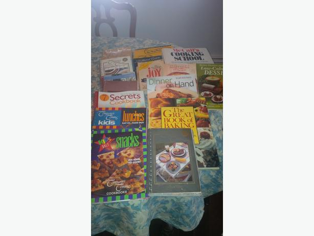 Large Cook Book Collection, (about 20 in total)