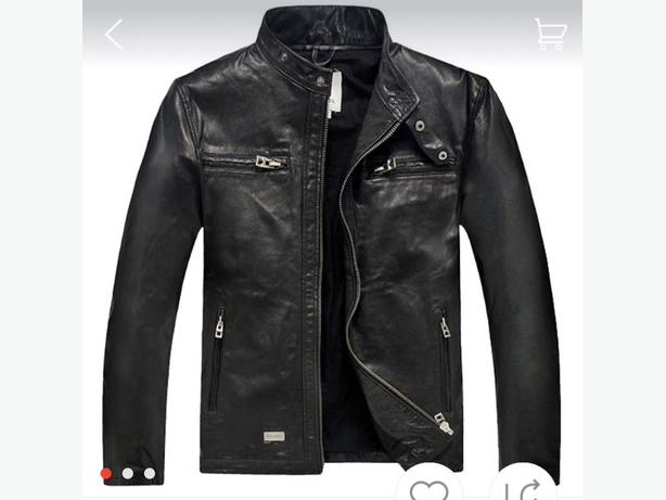 Never Worn Men's Leather Jacket